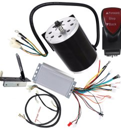 get quotations wphmoto high speed 48v dc 1800w brushless electric motor controller throttle pedal wiring [ 1600 x 1600 Pixel ]