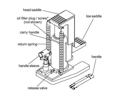 Weight Lifting Tool Toe Lift Jack Small Hydraulic Jacks