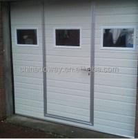 Automatic Open Style Garage Door With Pedestrian Door ...
