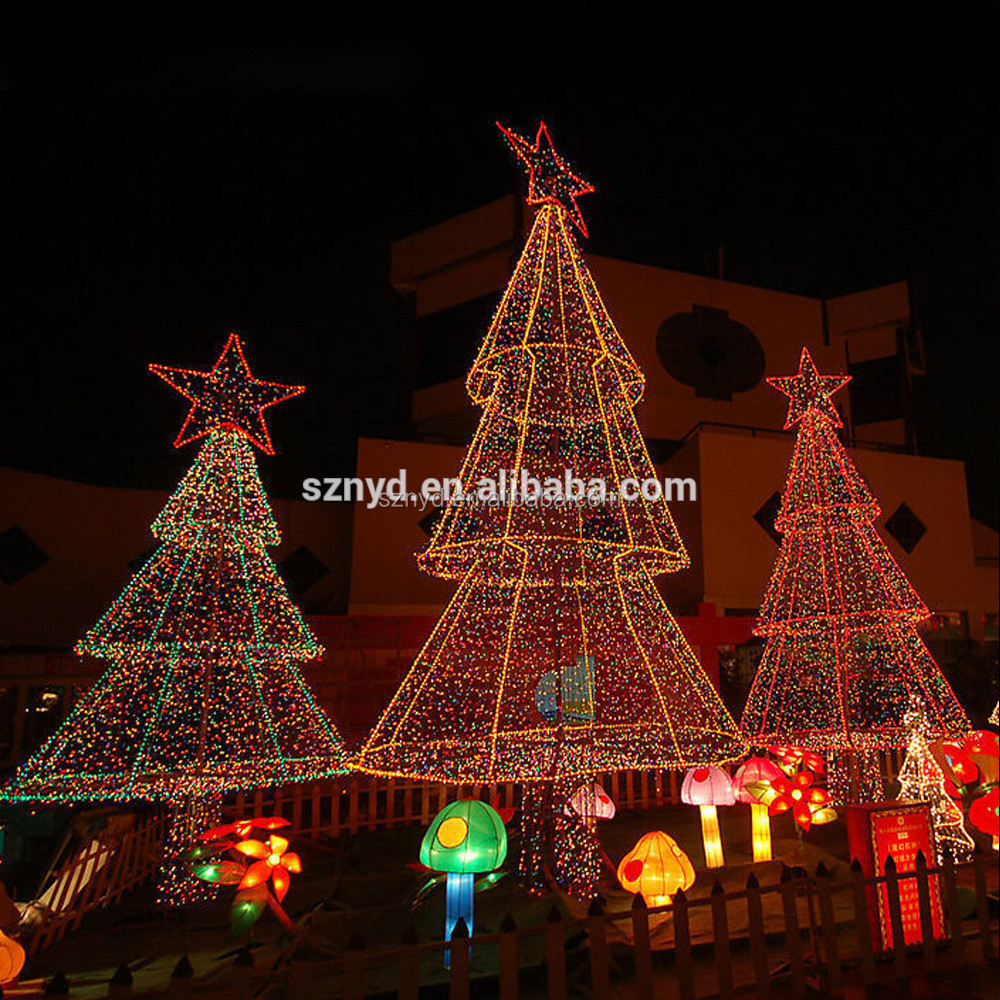 Yellow Led Christmas Tree Lights