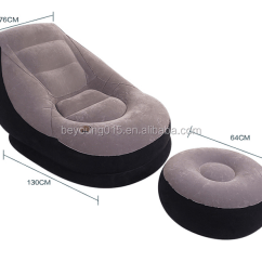 Intex Inflatable Chair And Ottoman Ikea Black Office Bedroom Furniture 68564 Ultra Outdoor Sofa Lounge With Ottoman+inflatable ...