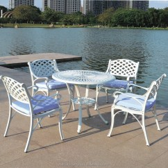 All Weather Garden Chair Craigslist Dining Table And Chairs Hotsale Rust Free Cast Aluminium Furniture Buy Aluminum Outdoor Patio
