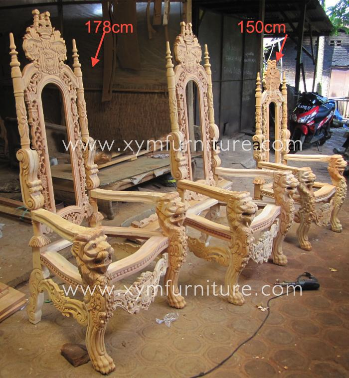 how to make a queen throne chair coastal dining chairs hot sale canada wedding party king buy