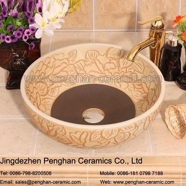 Chinese Modern Low Bathroom Ceramic Wash Basin Price In ...