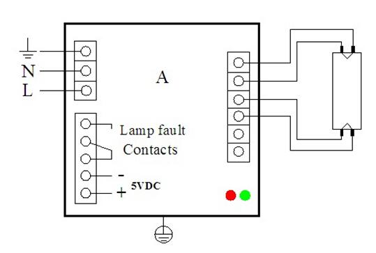 55w~155w Ballast Uvc Germicidal Lamp Electronic Ballast