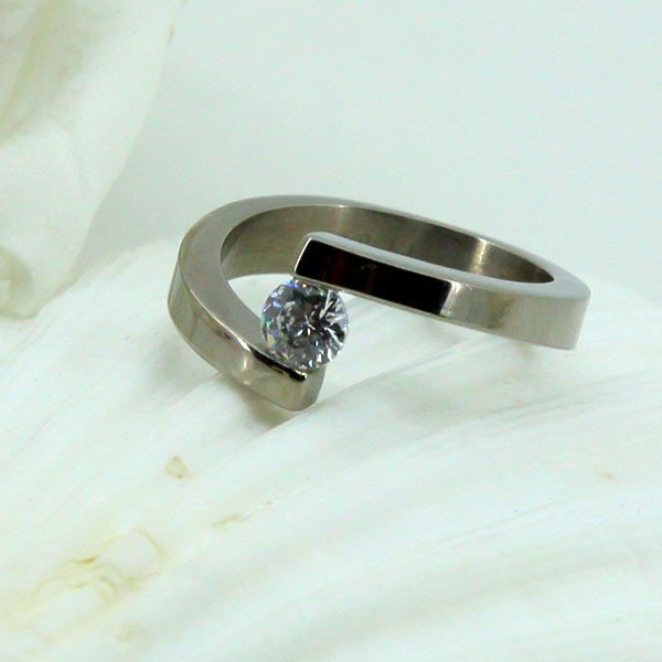 Fashion Diamond Finger Rings Silicone Magnetic Wedding