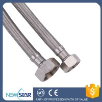 Water Heater Flexible Hose With Brass Fittings