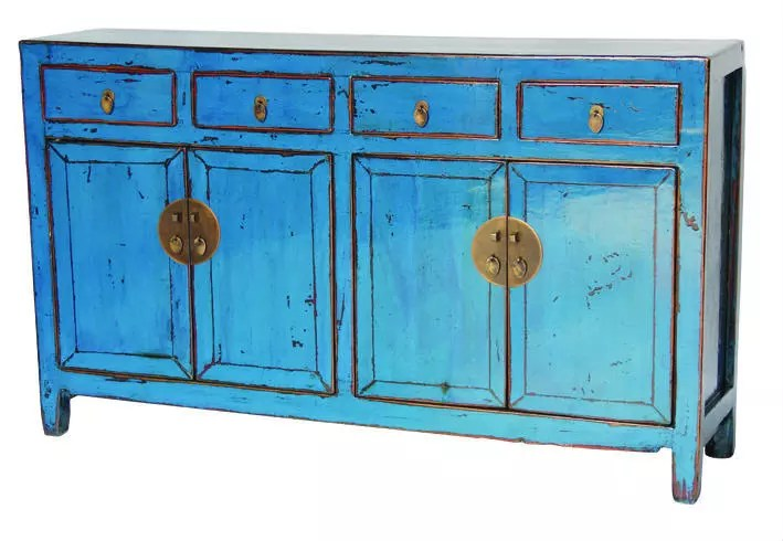buffet a quatre tiroirs en bois peint style chinois ancien asiatique support de buffet a quatre portes buy buffets et buffets peints buffet antique