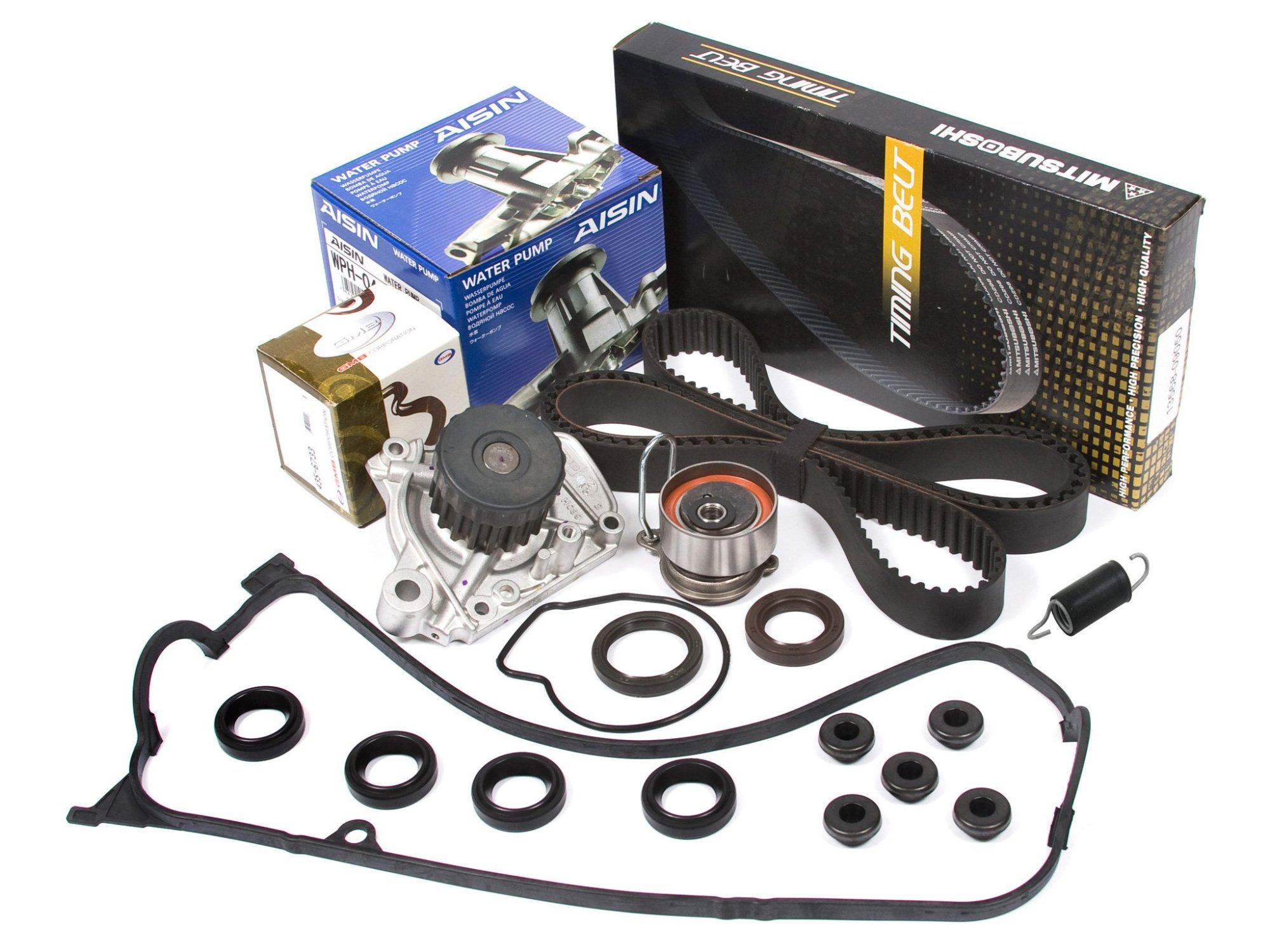 hight resolution of get quotations evergreen tbk312mvca 01 05 1 7l honda civic d17a timing belt kit valve cover gasket