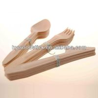 Disposable Birch Wood Disposable Plates And Cutlery - Buy ...