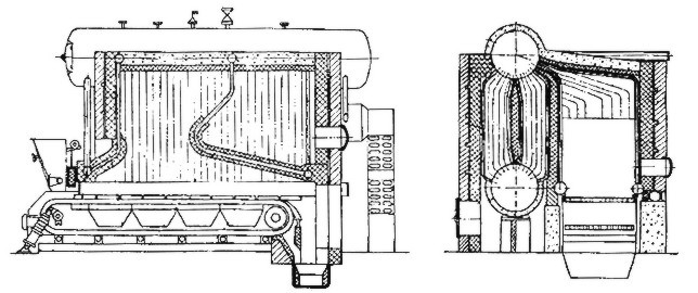 Water-tube Wood Fired Steam Boiler With Cyclone Combustion