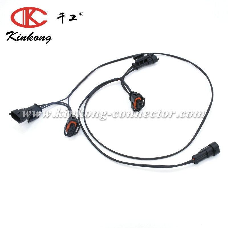 Custom Automotive Female And Male Waterproof Connector