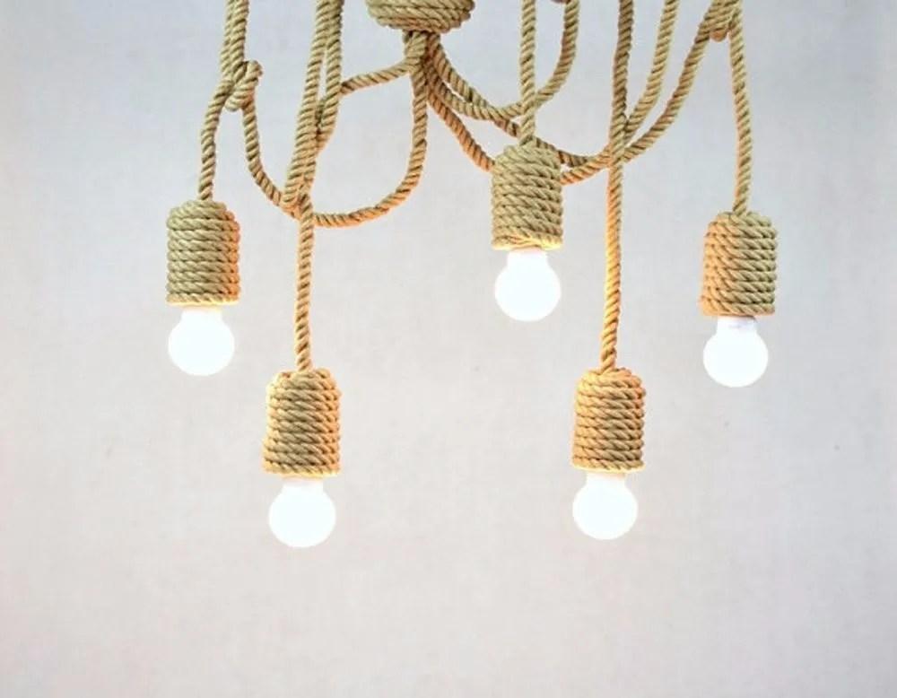 5 heads sailing diy retro hemp rope pendant lights nautical chandeliers industrial lighting swag twisted country light buy nautical chandeliers
