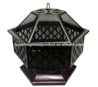Manufacturer Outdoor Hex-shaped Fire Pit /fire Bowl Fire ...
