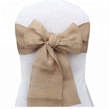 burlap chair covers for sale eames time life replica fancy cheap lace wedding sashes event and dinning