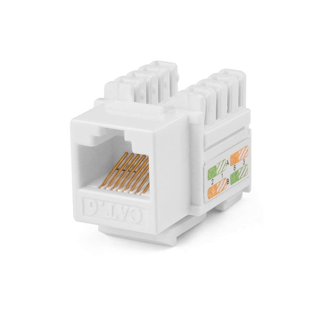 hight resolution of get quotations tnp rj45 keystone jack 1 pack cat6 cat5e cat5 compatible 8p8c ethernet network insert