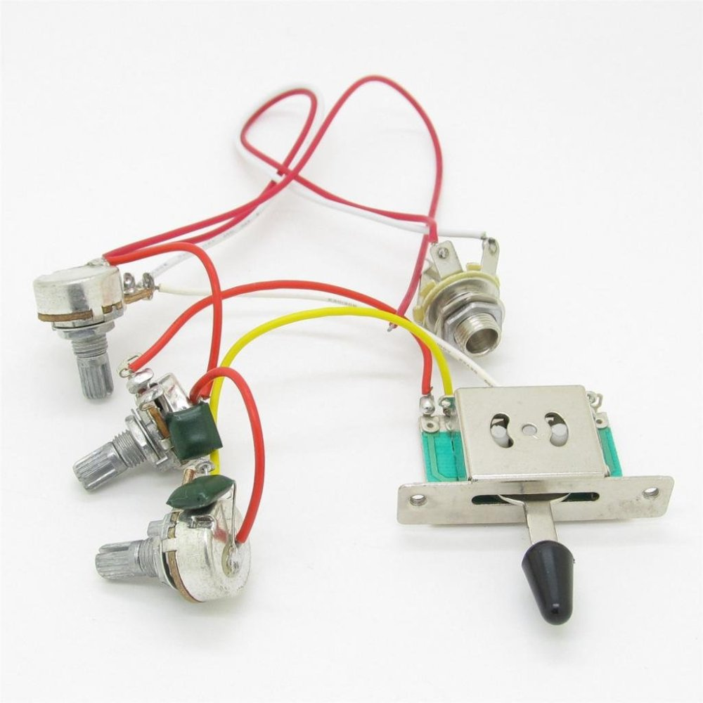medium resolution of cheap volume pot wiring find volume pot wiring deals on line at guitar wiring harness 3 way toggle switch 2 volume 2 tone 250k gold