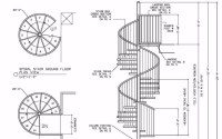 Interior Residential Steel Wood Spiral Stairs - Buy ...