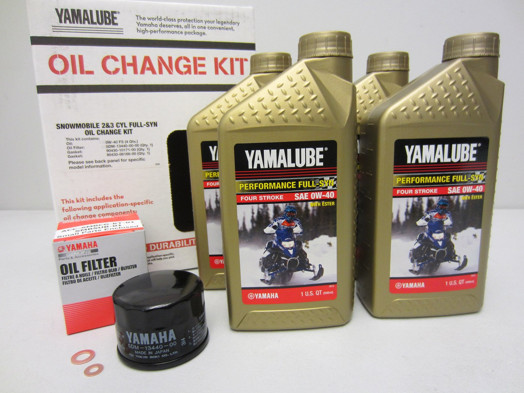 hight resolution of get quotations yamaha full synthetic engine oil change filter kit phazer nytro vector venture lub smbcg