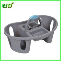 Bathroom Plastic Shower Caddy With Handle