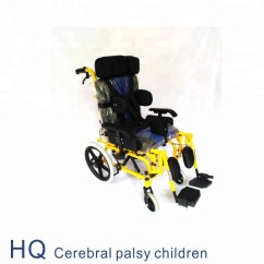 Yellow Wheelchair Mission Style Recliner Chair Wheelchairs For Cerebral Palsy Children Sale Buy Made In