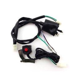 buy tc motor engine wiring harness loom for 50cc 70cc 90cc 110cc 125cc 140cc 150cc 160cc [ 1001 x 1001 Pixel ]