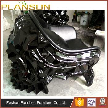 skull chair bar chairs swivel luxury designer replica furniture leather by harold sangouard