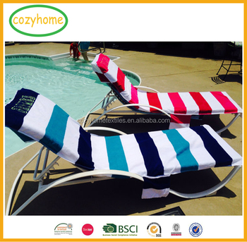 beach towels with pocket for lounge chair black metal dining 26 by 82 inch fashion towel fitted top terry chaise