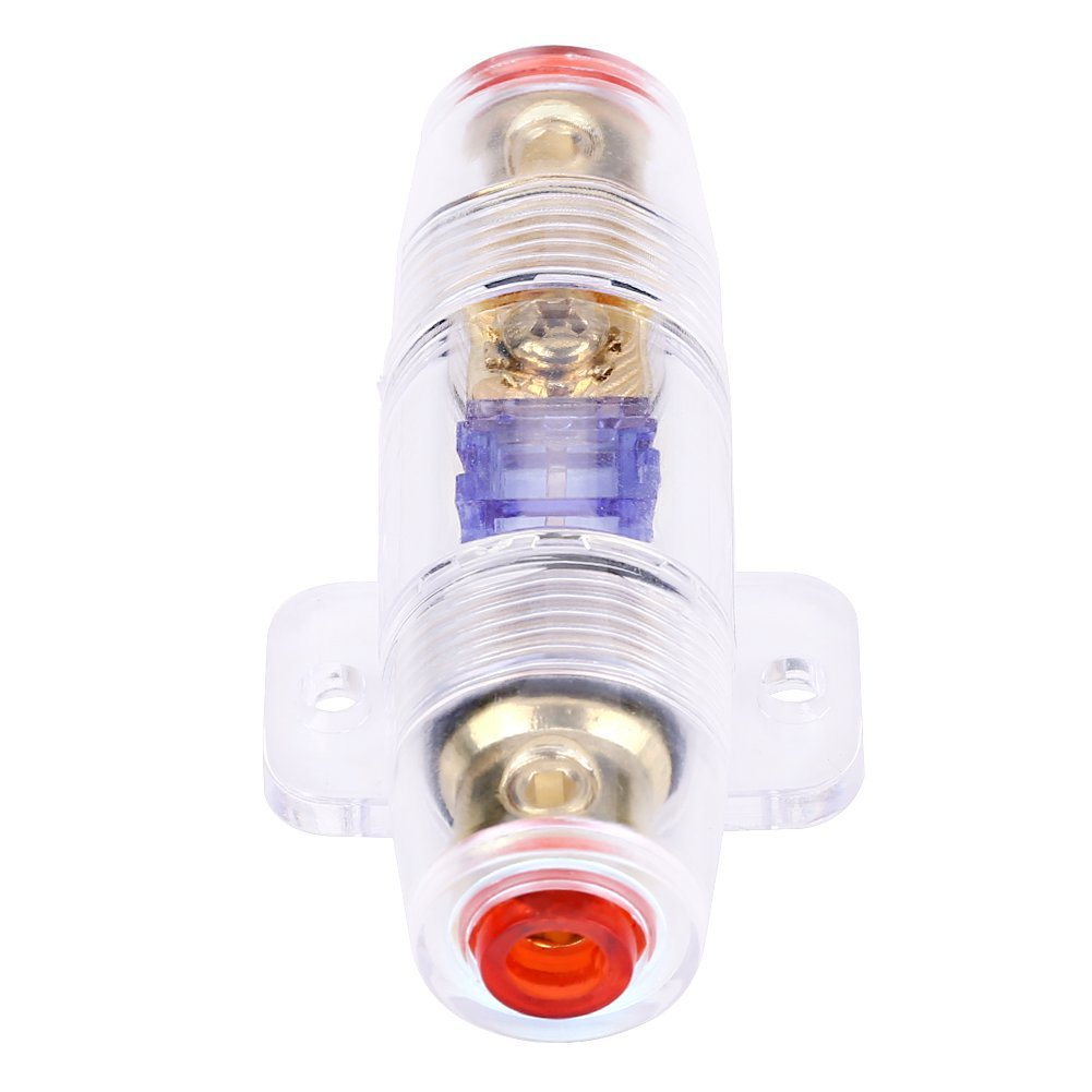 hight resolution of get quotations qiilu 8 gauge car auto vehicle stereo audio fuse box holder block with 60amp fuse