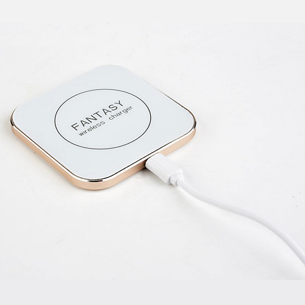 Gold Sliver And Rose Gold Wireless Charger Oem Logo Cheap