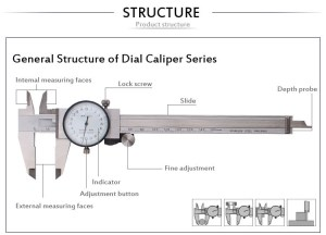 High Precision Internal Dial Caliper  Buy Internal Dial