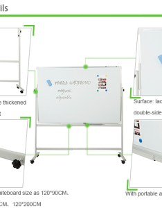 Factory direct price adjustable whiteboard with standmovable flip chart board also rh alibaba