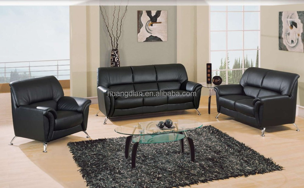 leather sofa set for living room wall decorations modern latest design 3 2 1 seat free simple ss4029