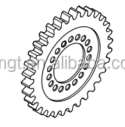 Parts No.85d1-70350(85d1-70050) Crawler H70 Dozer Sprocket