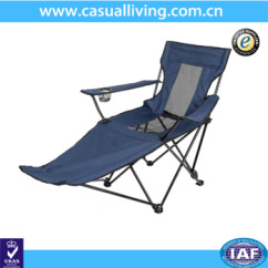 Reclining Beach Chair With Footrest Wheelchair That Goes Up Stairs Outdoor Foldable Camping Buy