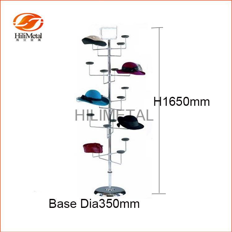 Earring Display Stand Metal Spinner Storage Rack Revolving