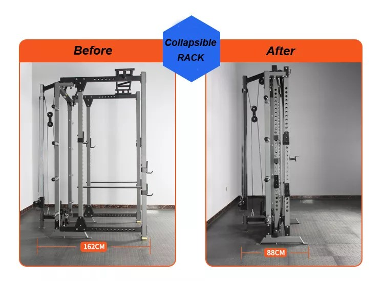 commercial fitness equipment collapsible squat rack gym machine squat training rack buy squat rack collapsible squat rack squat training rack