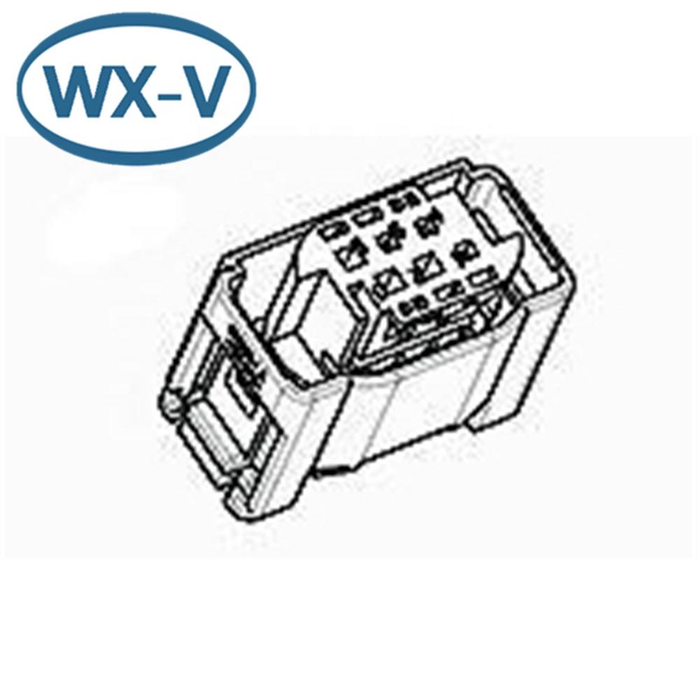 Pbt-gf15 6 Pin Te Female Car Plug Wire Harness Connector
