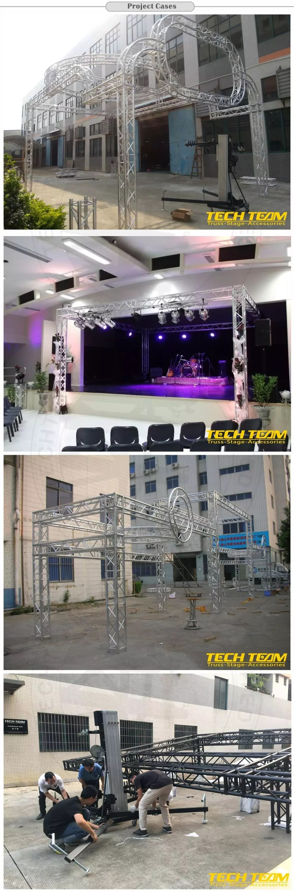indoor wedding decoration stage and truss used aluminum truss decoration ceiling wedding scene lighting truss buy sale aluminum lighting