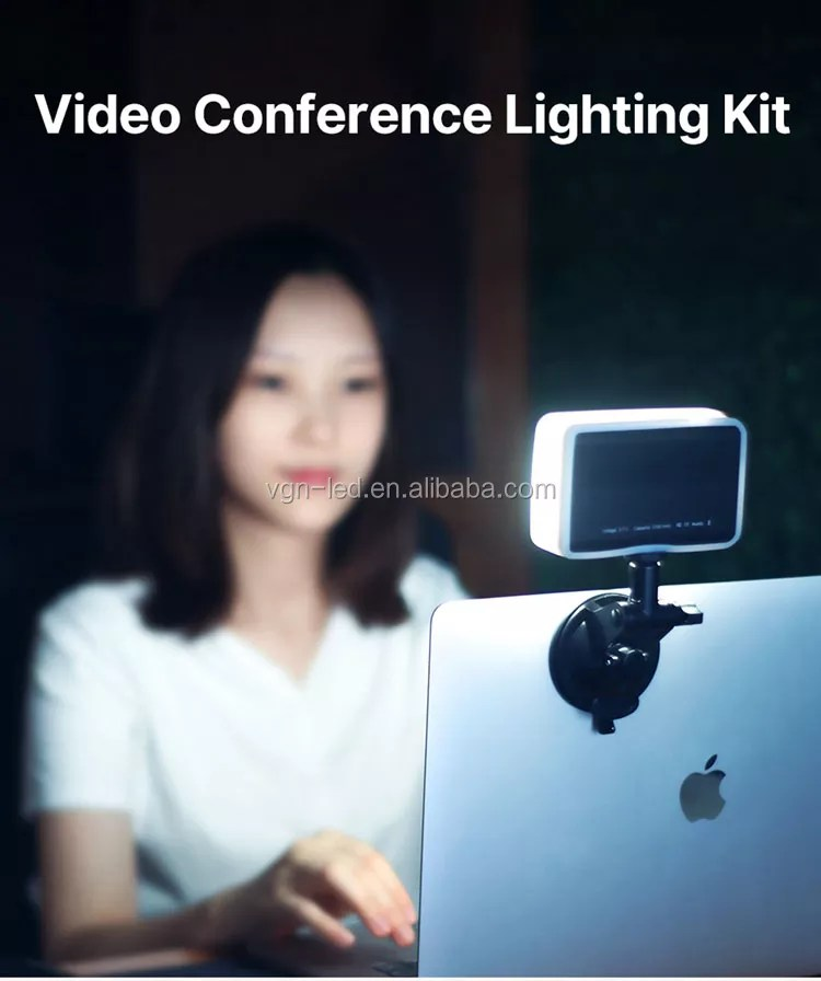 video conference lighting kit video conferencing remote working zoom call lighting self broadcasting and live streaming buy video conference