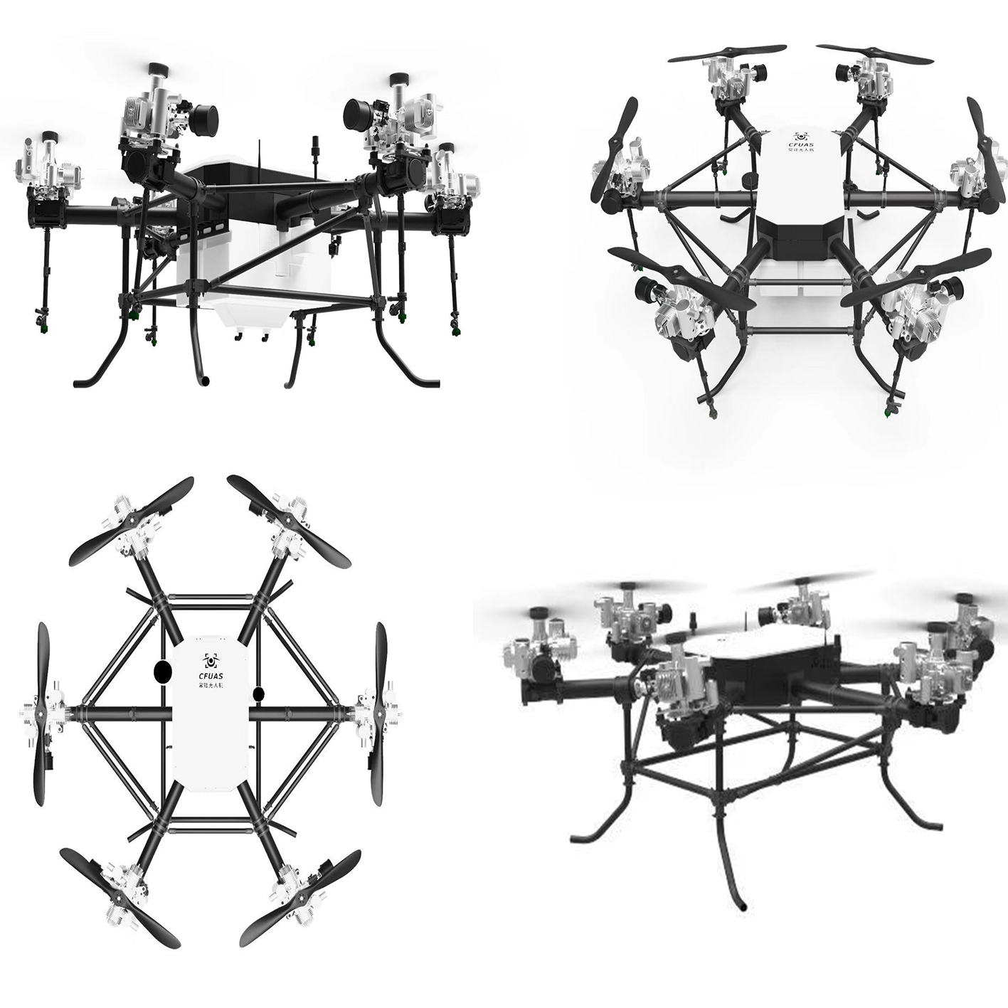30kg Payload Factory Supply Agriculture Drone Sprayer