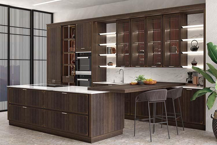 noyer en bois massif moderne guangzhou gros personnalise armoires de cuisine meubles de porte buy armoires de cuisine en bois massif meubles de