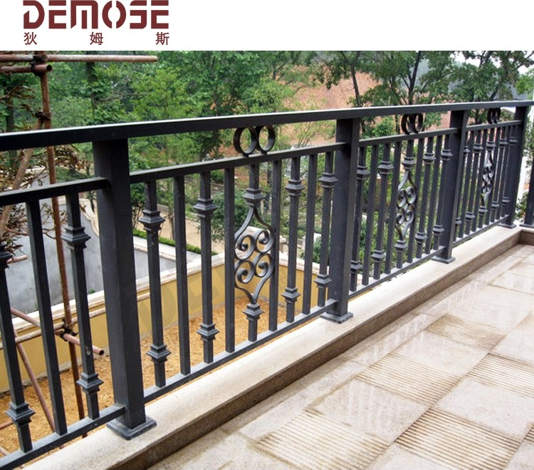 Simple Outdoor Wrought Iron Stair Steps Railing Railing For Door | Wrought Iron Handrail For Steps | Aluminum | Simple | Front Door Step | Forged Iron | Custom