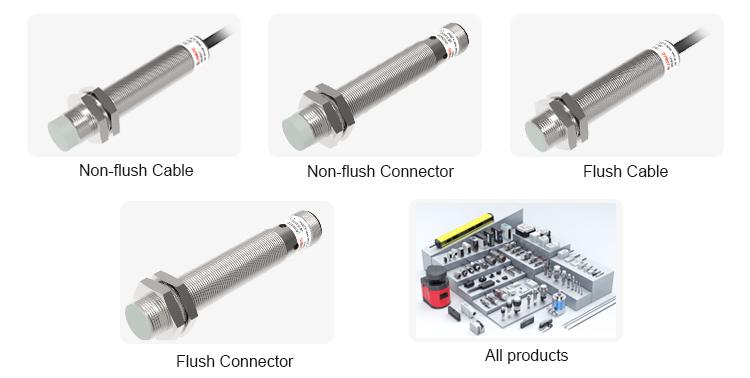 Lanbao Lr18xcf12dpcy-e2 Inductive Sensor Pnp Nc 10-30vdc