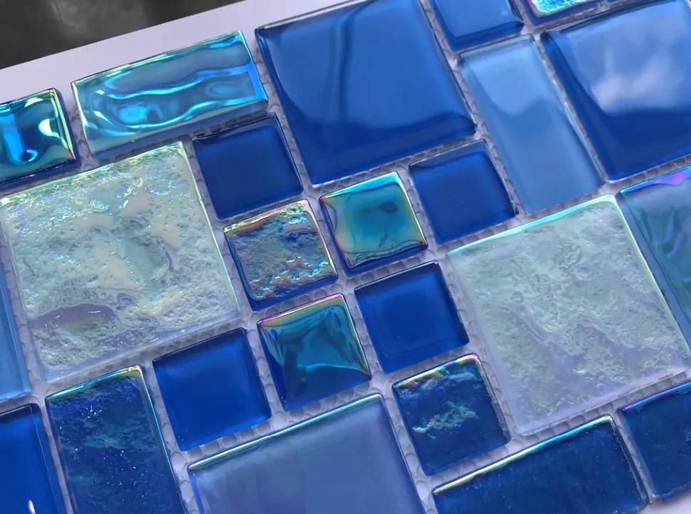 luxury swimming pools design crystal glass mosaic pool tiles buy swimming pool glass mosaic pool tiles bathroom glass mosaic product on alibaba com