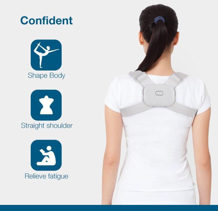 Intelligent Detection Vibration Reminder Electronic New Magnetic Smart Posture Corrector