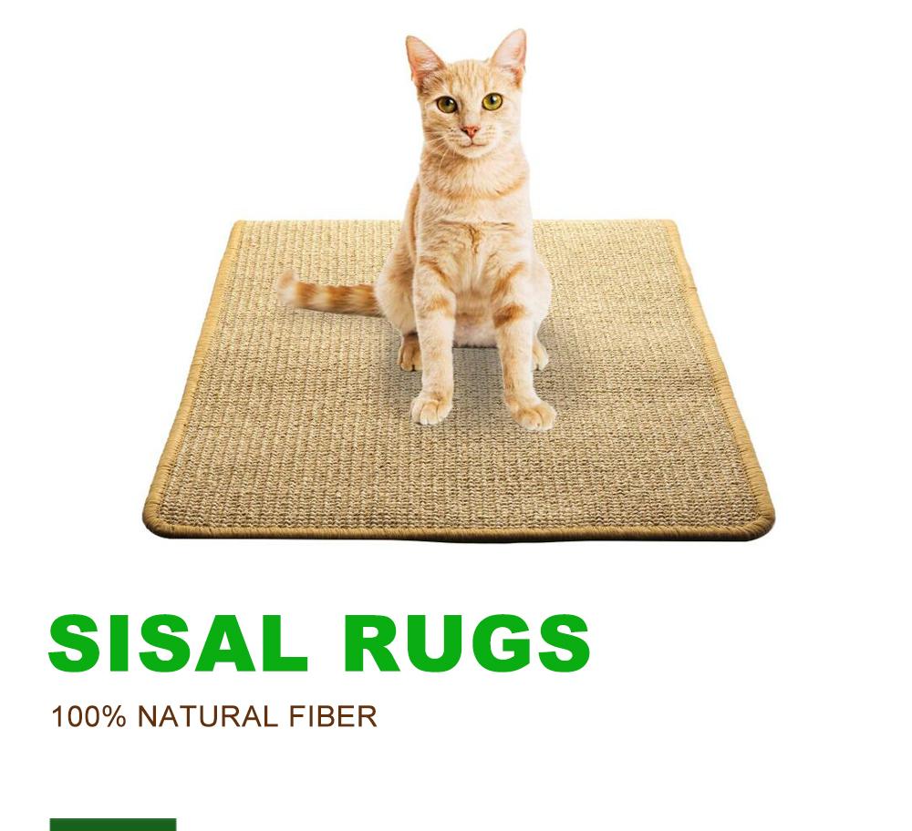 durable scratcher de chat epais sisal tapis griffoir pour chats anti derapant rayures tapis de couchage buy sommeil de chat tapis sisal gratter de