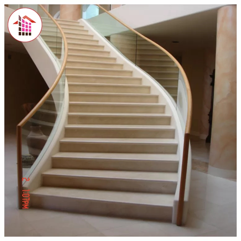 Premium Indoor Home Granite And Marble Stairs Step Design Tiles | Stairs Tiles Design For Home | Readymade Staircase | Duplex House | Style Kerala | Railing | Porcelain