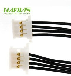 4 wire electric lvds cable 5 pin connector wire harness [ 1000 x 1000 Pixel ]