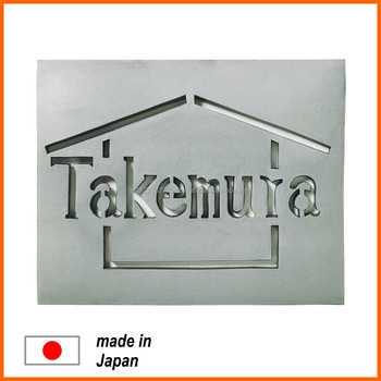 Stylish And High Grade Stainless Steel Name Plate At A Reasonable Price For Home Entrance Buy Stainless Steel Product On Alibabacom